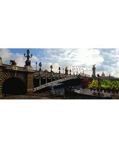 Le plus beau jour 40 x 100 cm, Philippe Matine - Tirage d'art sur toile - Chromatiko.fr
