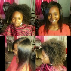 Blowouts and natural hair styles