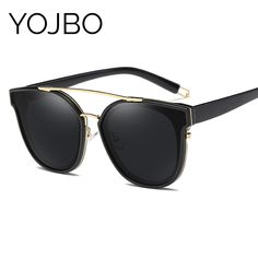 Cheap sun glasses ray, Buy Quality sun glasses ray brand directly from China glasses ray Suppliers: YOJBO Luxury Polarized Sunglasses Women 2017 Mirror Sun Glasses Oversized Sunglass Women Brand Designer Sun Glasses Ray Styles Sunglasses 2017, Luxury Sunglasses, Stylish Sunglasses, Polarized Sunglasses, Sunglasses Women, Stylish Glasses For Women, Women Brands, Women's Accessories, Eyewear