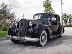 1938 Packard Super Eight 5 passenger coupe