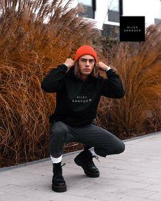 ALLEXSANNDER | MENS BASIC HOODIE BLACK   Modern ALLEXSANNDER BLACK PRINT.   • Hoodie made from 100% Californian fleece cotton  • Hooded with matching finished polyester drawcord  • Raglan sleeves  • Kangaroo pocket  • Made in the USA  • Sweatshop free   Style #: 112-001-999 Basic Hoodie, Urban Street Style, Black Print, Black Hoodie, Hoods, Hipster, Menswear, Mens Fashion, Sleeves