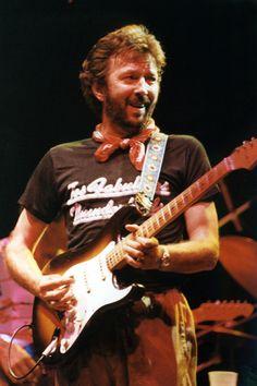 Clapton on tour '82