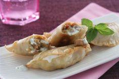 titulo receta Empanadillas de Carne y Philadelphia Finas Hierbas