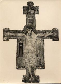 Croci, Felice , Anonimo lucchese - sec. XIII/ XIV - Brancoli, Pieve - croce dipinta - insieme
