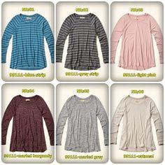 Camiseta Hollister, R$ 36,00 36, Sweaters, Fashion, Blouses, Moda, Fashion Styles, Sweater, Fashion Illustrations, Sweatshirts