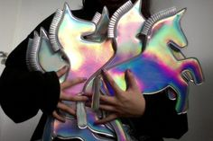 All the holographic unicorn purses!