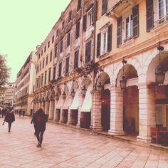 Κερκυρα Corfu Πλατεια Λιστον