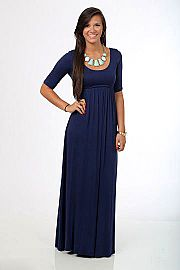 Dear To My Heart Maxi, navy