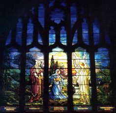 """Resurrection"" window, 1928 