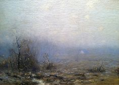 Bruce Crane (1857-1937), Hazy Weather - 1920