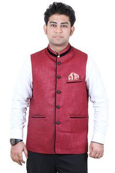 Modi Jacket, Nehru Jackets, Jackets Online, Vest, Fancy, Cotton, Stuff To Buy, Fashion, Moda