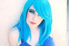 Blue Wig-11