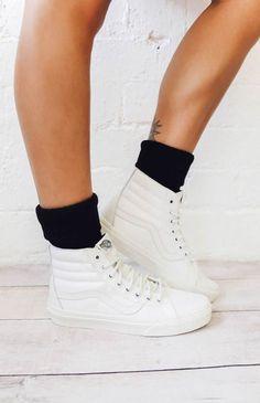 77d9048e42 Vans SK8-Hi Reissue Sneaker - Blanc De Blanc Vans Sneakers