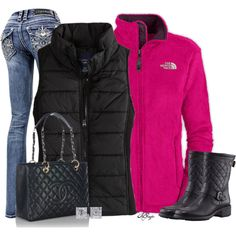 """Outdoor Vest Contest 2"" by kginger on Polyvore"