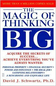 The Magic of Thinking Big! Heard only good things about this book and I want to read it!