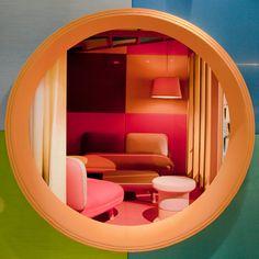 Delightful Werner Aisslinger Creates Upholstered Hut For Kvadratu0027s Garden Of Wonders  Display Stand