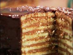 Receta: Osvaldo Gross-+ Chocolate - Príncipe regente y Torta Pischinger