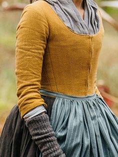 18th Century Dress, 18th Century Costume, 18th Century Clothing, 18th Century Fashion, 18th Century Stays, Claire Fraser, Historical Costume, Historical Clothing, Historical Dress