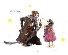 Luka & Cereza - Bayonetta by http://www.pixiv.net/member_illust.php?mode=medium&illust_id=8783006