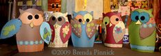 Free Owl Craft Pattern