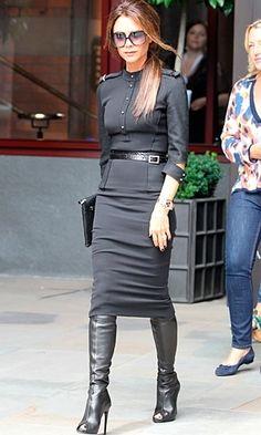 Classy in all black