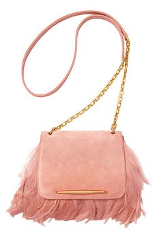 The Bazaar: Pink Lady - Nina Ricci bag