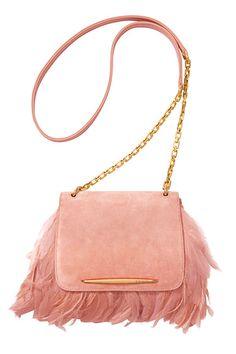 The Bazaar: Pink Lady - Nina Ricci bag