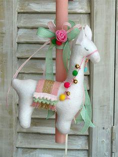 Easter 2020, Candles, Christmas Ornaments, Holiday Decor, Handmade, Light Bulb Vase, Tela, Hand Made, Christmas Jewelry