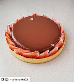#Repost @mariamcake02 Chocolate tart. Шоколадный тарт. #bakelikeaproyoutube #instagood #chocolate