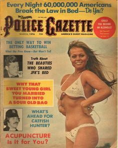 The National Police Gazette March 1976