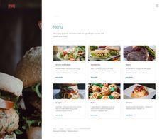 Website for restaurant & bistro Create Website, Menu, Restaurant, Business, Food, Menu Board Design, Meal, Diner Restaurant, Essen