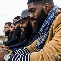 Black Men with Beards...  @blackmenwithbeards on instagram