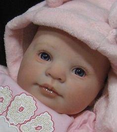 "Reborn Baby Girl Doll CUSTOM MADE ""Holly"" Sculpt by Donna Rubert"