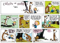 Calvin and Hobbes Comic Strip, May 18, 2014 on GoComics.com