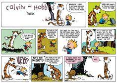 Calvin and Hobbes Comic Strip, May 18, 2014 on GoComics.com