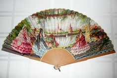 Antique Paper Fan
