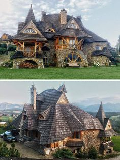 Wooden Cottage, Tatra Mountains, Poland – Architecture Designs – All For Garden Beautiful Architecture, Beautiful Buildings, Beautiful Homes, Architecture Design, Museum Architecture, Gothic Architecture, Landscape Design Plans, House Landscape, Wooden Cottage