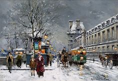 Antoine Blanchard - Porte St. Denis