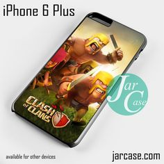 Clash of Clans Barbarian Phone case for iPhone 6 Plus and other iPhone devices