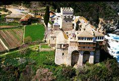 Athos alone stavronikita - Athos, Agion Oros UNESCO Heritage site Mt Athos Macedonia Greece Heritage Center, Heritage Site, Alone, Macedonia Greece, Art And Architecture, Landscapes, Greek, Mountain, Europe