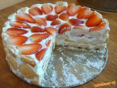 Good Food, Yummy Food, Sweet Recipes, Tiramisu, Ham, Cheesecake, Food And Drink, Appetizers, Cooking Recipes