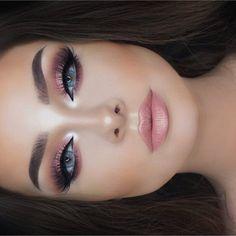 "318.3 m Gostos, 1,344 Comentários - Huda Kattan (@hudabeauty) no Instagram: ""She's so gorgeous @jessicarose_makeup ❤️❤️❤️ @shophudabeauty lashes in Farah…"" #gorgeousmakeup #makeupideasfall"