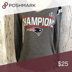 EUC PATRIOTS T-shirt Go pats! NFL TEAM APPAREL Tops Tees - Long Sleeve