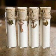 sea salt favors #celebstylewed