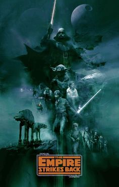 Image du film Star Wars: Episode V - The Empire Strikes Back (Irvin Kershner) de Christopher Shy Star Wars Fan Art, Star Trek, Images Star Wars, Star Wars Pictures, Cuadros Star Wars, Ralph Mcquarrie, Star Wars Wallpaper, The Empire Strikes Back, Alternative Movie Posters
