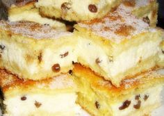 Túrós süti recept foto Hungarian Desserts, Romanian Desserts, Hungarian Recipes, Ital Food, Cookie Recipes, Dessert Recipes, Czech Recipes, Swedish Recipes, Specialty Foods