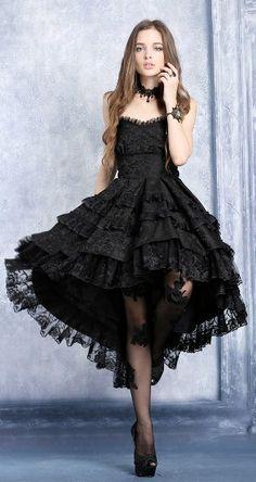 Resultado de imagen para vestidos de graduación góticos