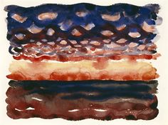 Sunrise and Little Clouds - Georgia O'Keeffe — Google Arts & Culture