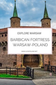 The Barbican Fortress is one of the many things that you can do when you are in Warsaw Poland. Croatia Travel, Thailand Travel, Bangkok Thailand, Poland Travel, Italy Travel, Poland Culture, Visit Poland, Warsaw Poland, Las Vegas Hotels