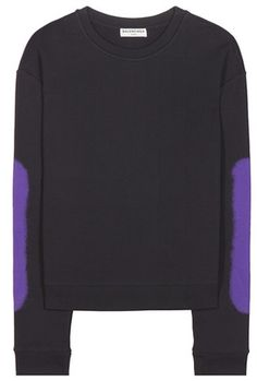 balenciaga hoodie womens purple